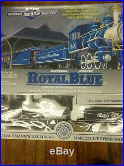 NEW Bachmann Big Haulers Royal Blue Set Christmas Tree Train Set