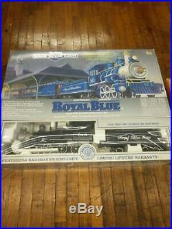 NEW Bachmann Big Haulers Royal Blue Set Train Set