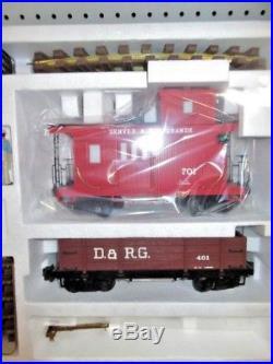 NEW Lionel 8-81000 Gold Rush Special Train set G SCALE in Original Box FREE SH