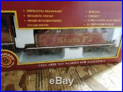 NIB RARE Bachmann Big Haulers G Scale 90091 Super Chief Eletric Train Set
