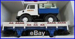 NOS LGB #21988 THE BIG TRAIN CIRCUS LOCOMOTIVE & CARS TRAIN SET with ORIGINAL BOX