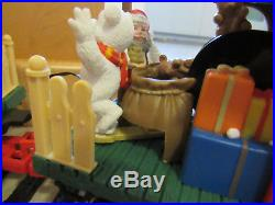 New Bright Dillards Animated Christmas Train Set G Scale