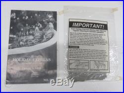 New Bright G Scale Holiday Express Electric Animated Train Set NBR380