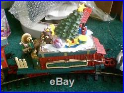 New Bright Holiday Express Animated Train Set 387 G Scale Dillards Christmas
