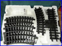 New Bright Timber Wolf & Gold Rush G Scale Train Set With Over 18' Of Track