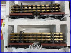 New In Box LGB Limited Edition 30th Anniversary Train Starter Set 73968 Track