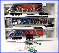 New Lgb 92950 DC Comics Superhero Bullet Train Set