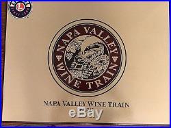 New & Rare Lionel 6-31737 Napa Valley Wine Train Set