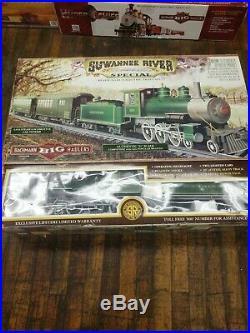 New Train Set BACHMANN BIG HAULER SUWANNEE RIVER TRAIN SET NEW