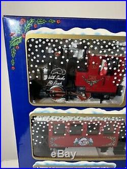 Nib Lgb The Christmas Train Rare 1991 Christmas Set Red 22540 Us G Scale Germany