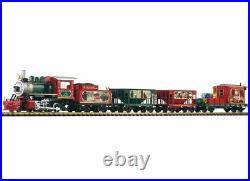 Piko G Scale Christmas Freight Starter Set Analog Sound 120v 38122