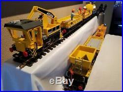 PlayMobil LGB G Scale Construction Work Train 7 Car Set