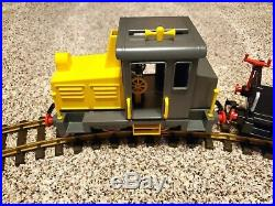 Playmobil 4024 G scale Train Set Freight Retired Vintage Rare Fully Tested