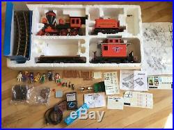 Playmobil Train Set 4033 Steaming Mary Pacific Railroad Western G scale LGB