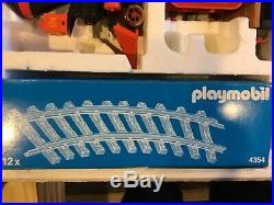 Playmobil Western train set steaming Mary toy 4034 vintage gently used g scale