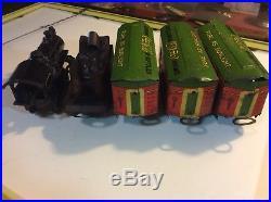 RARE Coca Cola Pure As Sunlight Train Set 1928 American Flyer