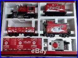 RARE LGB 72510 Coca Cola Train Set w Case