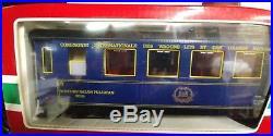 Rare LGB # 20277 3 coach Orient Express Train Set released in 1987