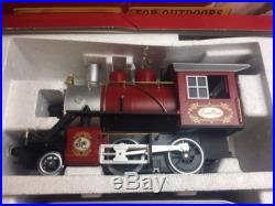 Rare LGB 72325 Seasons Greetings CHRISTMAS Train Set With Track And Transformer