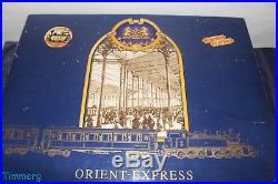 Rare LGB Lehmann 70685 G Scale Orient Express Mallet Passenger Train Set MIB