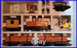 Rare Vintage Lehmann Gross Bahn (LGB) 21990 Construction Work Set The Big Train