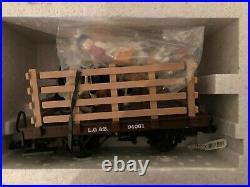 Rare vintage LGB 92790 Dairy Train Starter Set Excellent condtion