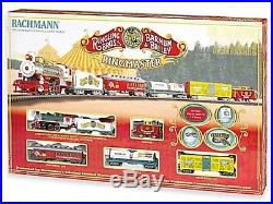 Ringling Brothers Barnum And Bailey Circus Ringmaster Electric Train Play Set