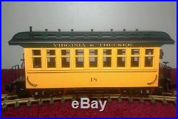 Set Of (6) USA Trains With Locomotive Caboose And Passenger Cars-docksider Loco