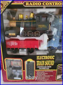 Service Railroad Express Radio Control G Gauge Train Set New in Box