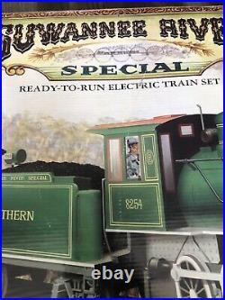 Suwannee River Electric Train Set G Scale 4-6-0 Steam Locomotive Coal Tender