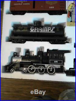 The Original Bachmann Big Haulers ROCKY MOUNTAIN EXPRESS Train Set RARE Vintage