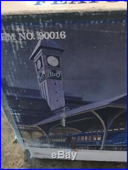 The Original Bachmann Big Haulers Royal Blue Train Set (G) Scale Item# 90016