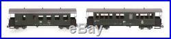 Train Line45 Set 2 Stück DR Traditionswagen 900-456 und 900-460 Spur G