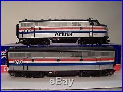 USA Trains R22263 USA Trains Amtrak Emd F3ab Diesel Set 490 491 G Scale