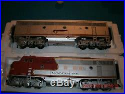 USA TRAINS g scale ab set r22257 santa fe #26 & 26A NEW IN BOX