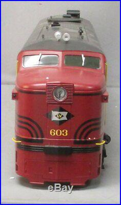 USA Trains 22408 G Lehigh Valley ALCO PA-1 & PB-1 Diesel Locomotive Set EX/Box
