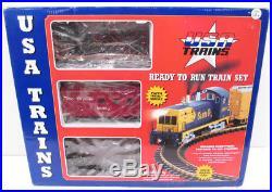 USA Trains 72300 G Denver & Rio Grande Western NW-2 Train Set
