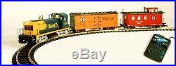 USA Trains 72301 G Scale NW-2 TRAIN SET Santa Fe NW-2 Freight Set