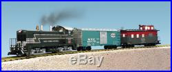 USA Trains 72304 G Scale NW-2 TRAIN SET New York Central NW-2 Freight Set