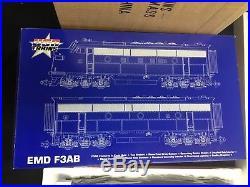 USA Trains EMD F-3 AB Train Set With Box NYC