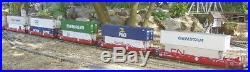 USA Trains G Scale ATSF Intermodal 5 Unit Articulated Set Freight R17152 E73