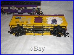 USA Trains G Scale Atlantic Coast Lines Train Set NW-2 Diesel Caboose Track ++