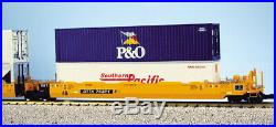 USA Trains G Scale Intermodal 5 Unit Articulated Set R17150 TTX (No Containers)