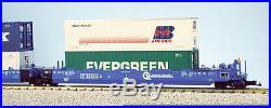 USA Trains G Scale Intermodal 5 Unit Articulated Set R17158 Conrail No Containe