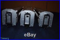 USA Trains G Scale Pennsylvania Congressional Aluminum Passenger 3 Car Set
