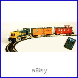 USA Trains G Scale Santa Fe Nw-2 Starter Set 1 Business Day Hndlg R72301