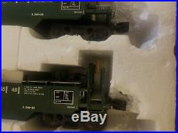 USA Trains Intermodal 5 unit well car set/BNSF Green WithO Containers