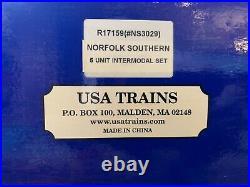 USA-Trains Norfolk & Southern Intermodal car set, R17159, New G Scale
