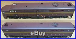 USA Trains PRR ALCO PA AB Diesel Engine Set both withSMOKE G-Gauge LN READ LISTING