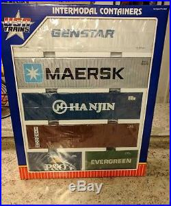 USA Trains R1710W Multi Pack #3 Container Set